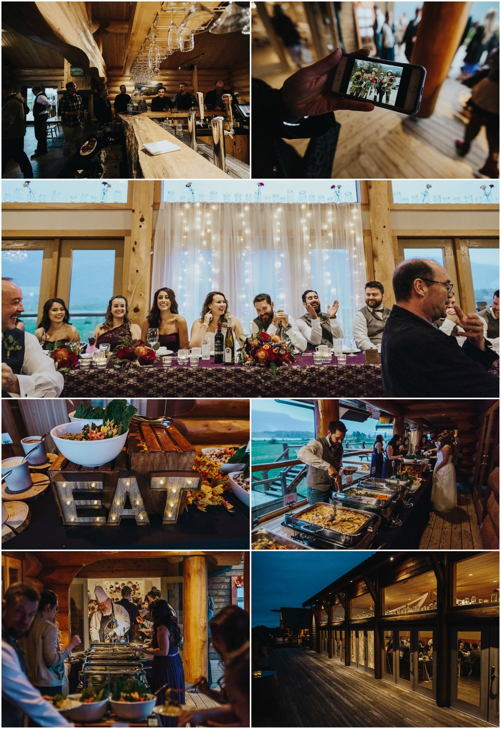 Fraser River Lodge, Rustic Pine Wedding, Red, Purple, Plaid 10.jpg