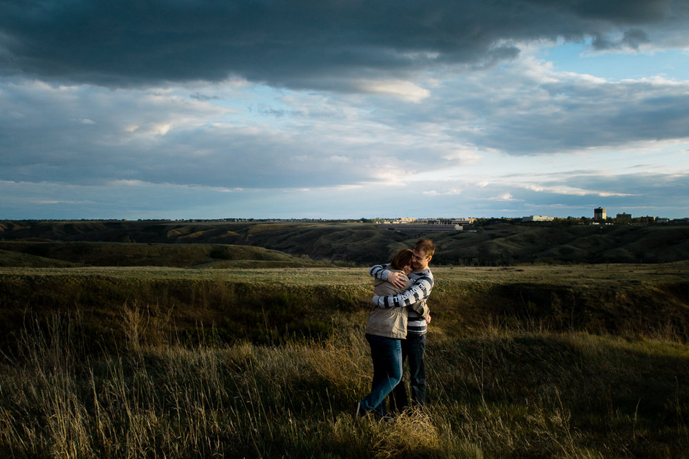 Park Engagement Photography Poses Couple Indian Battle Park, Lethbridge Alberta Canada-0009.JPG