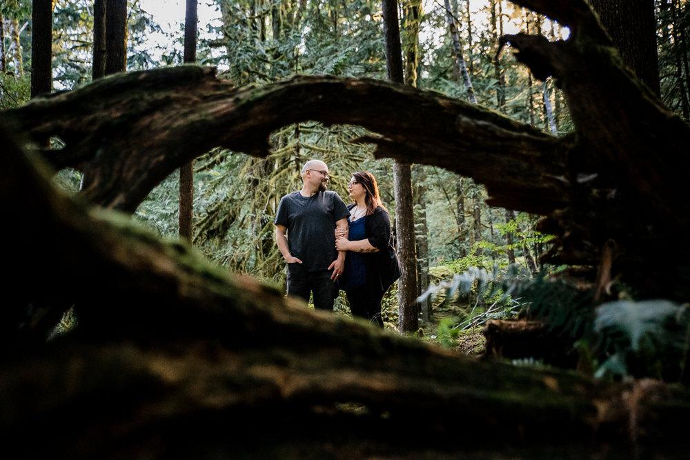 Alouette Lake Golden Ears Park Mountain Engagement Photography Plus Size Couple-0112.JPG