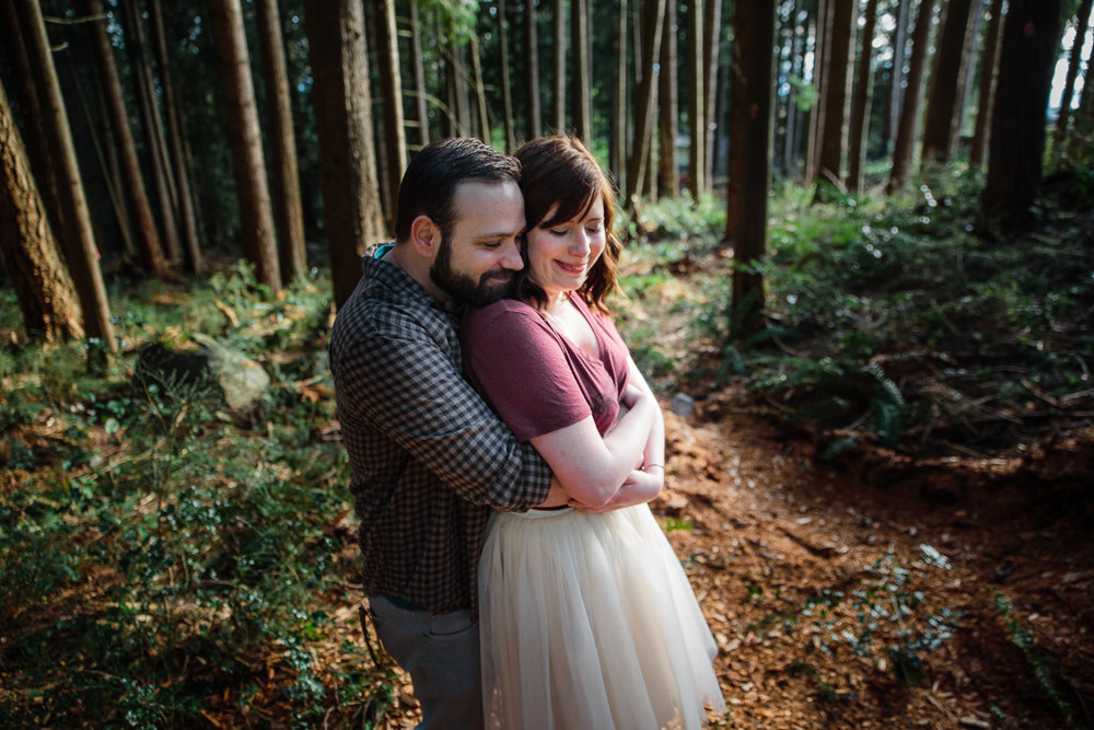 North Vancouver Forest Trails Engagement Photography Dog Walk -0007.JPG