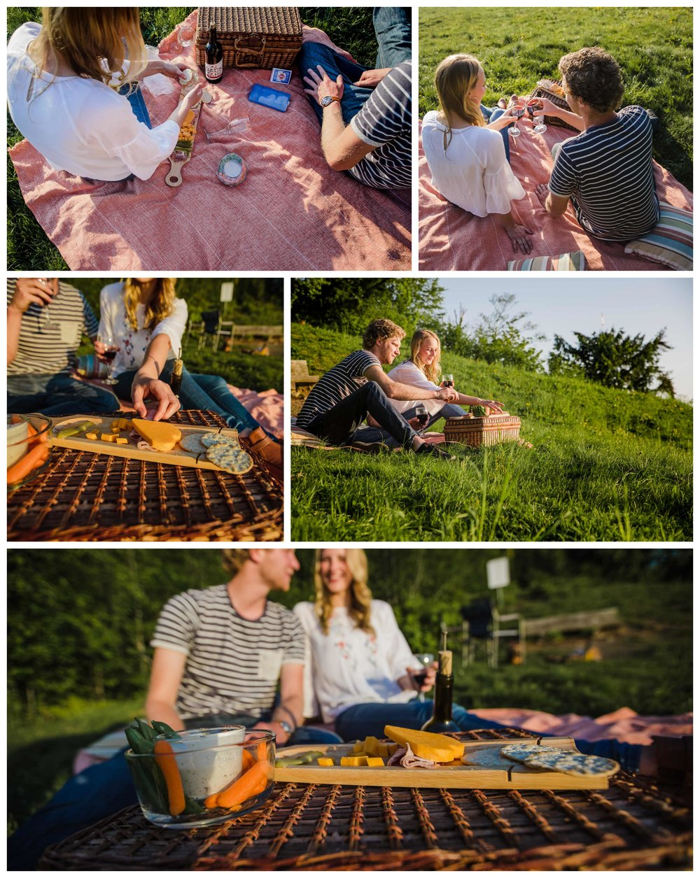Adventure engagement picnic on mountain top.jpg
