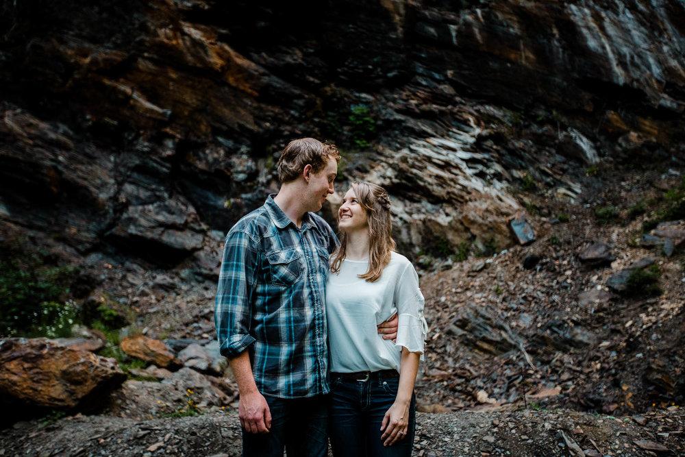 Foley Creek Lake Baby Munday Falls Chilliwack Adventure Mountain Waterfall Couple Fun Engagement Photographer  183.jpg