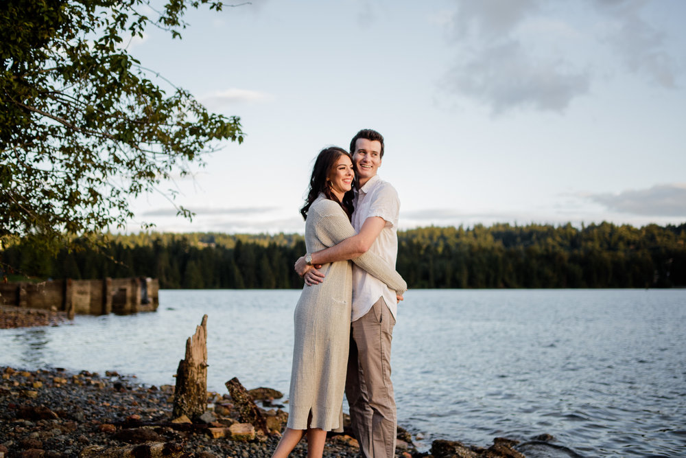 Photo of Buntzen Lake Anmore British Columbia Landscape Best Fun Engagement Photographer Port Moody Wedding Sunset Romantic Couple Photos 177.jpg