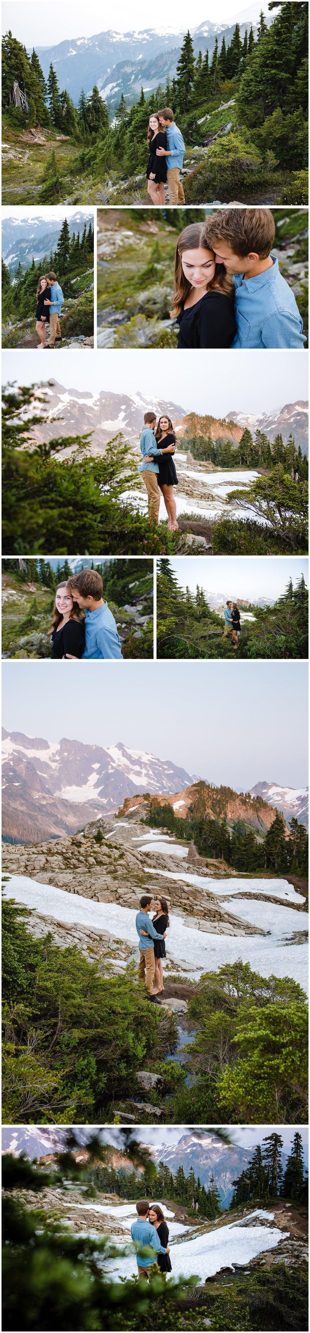 Mt Baker Artist Point Engagement Photography Mountain Inspo Couples Photographer Evening Romantic_0005.jpg