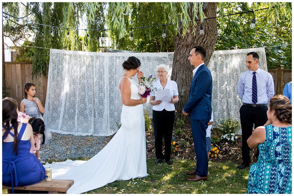 Aldergrove backyard summer wedding photographer bc canada outdoor garden inspiration family couple with kids, bride and groom_0053.jpg