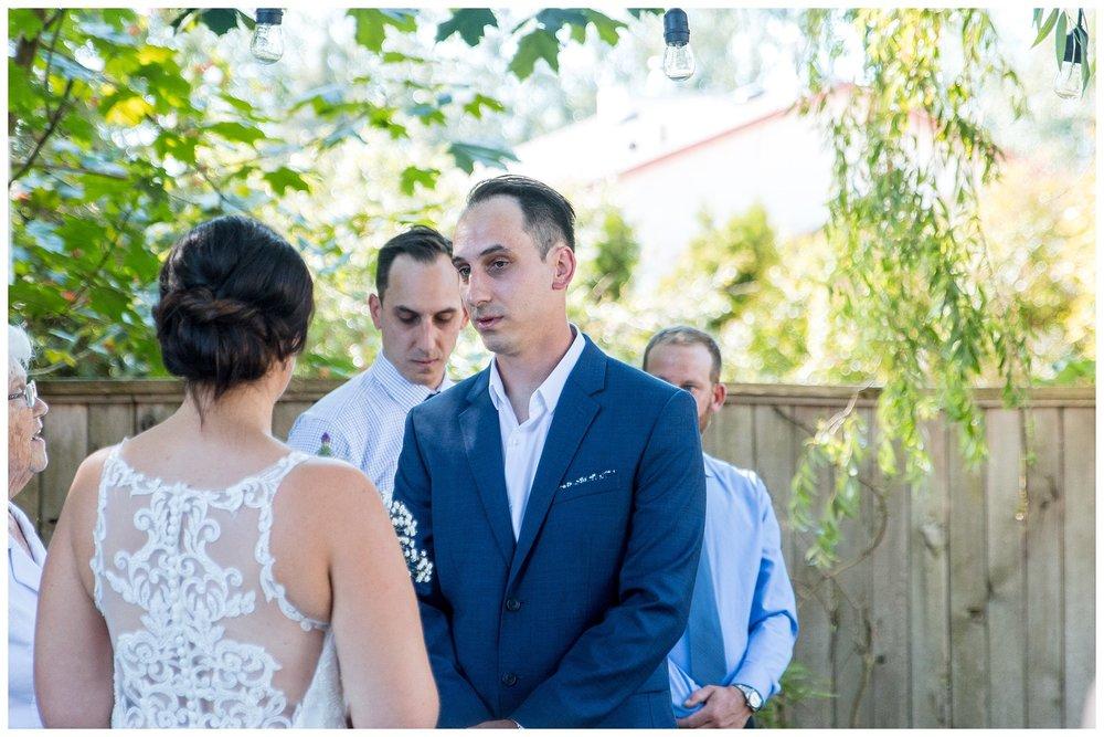 Aldergrove backyard summer wedding photographer bc canada outdoor garden inspiration family couple with kids, bride and groom_0055.jpg
