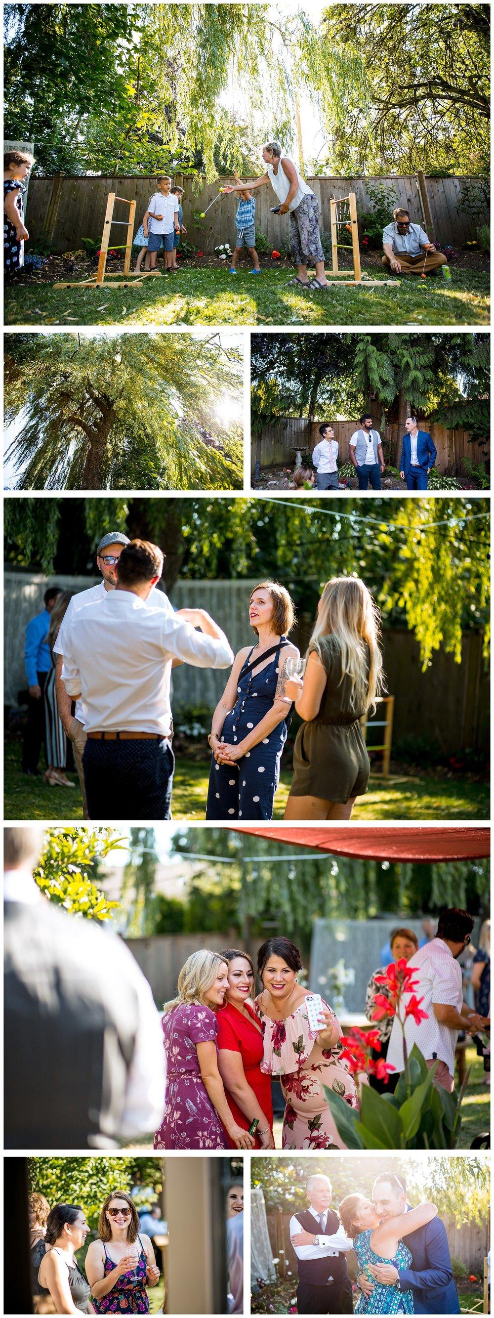 Aldergrove backyard summer wedding photographer bc canada outdoor garden inspiration family couple with kids, bride and groom_0071.jpg