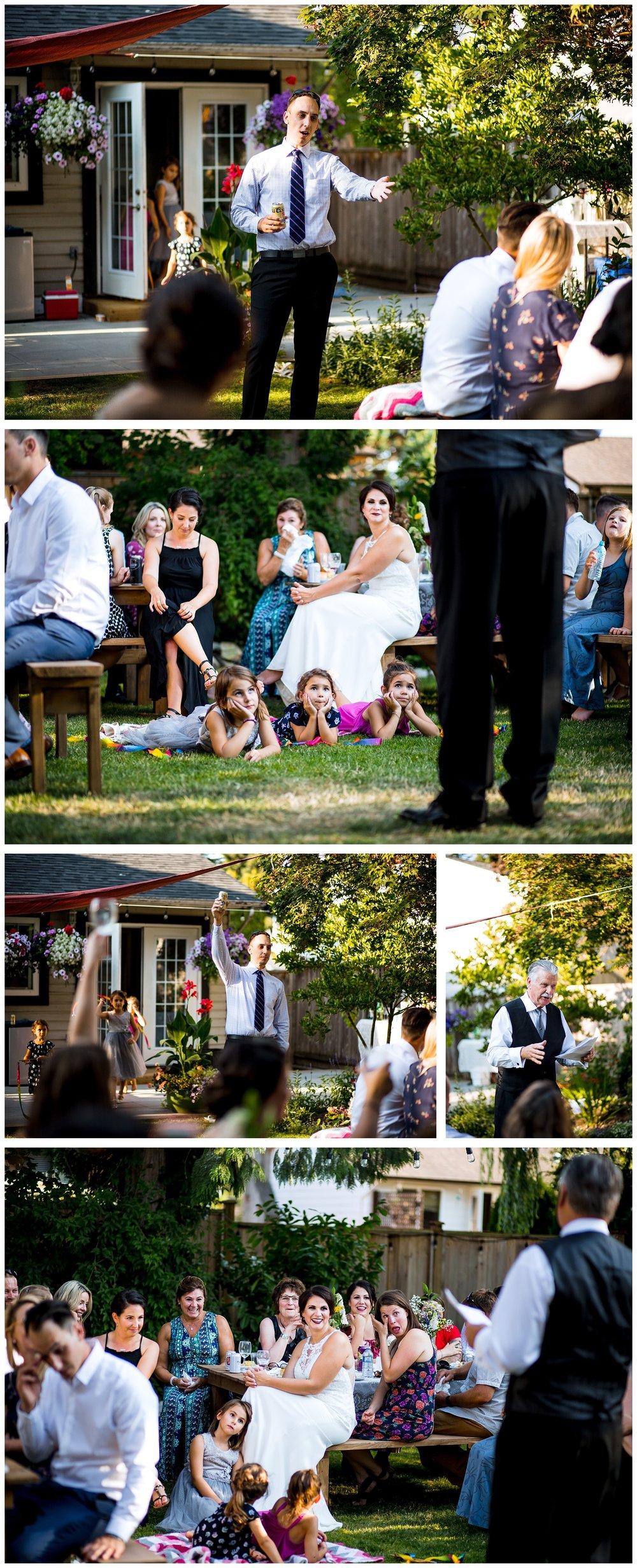 Aldergrove backyard summer wedding photographer bc canada outdoor garden inspiration family couple with kids, bride and groom_0076.jpg