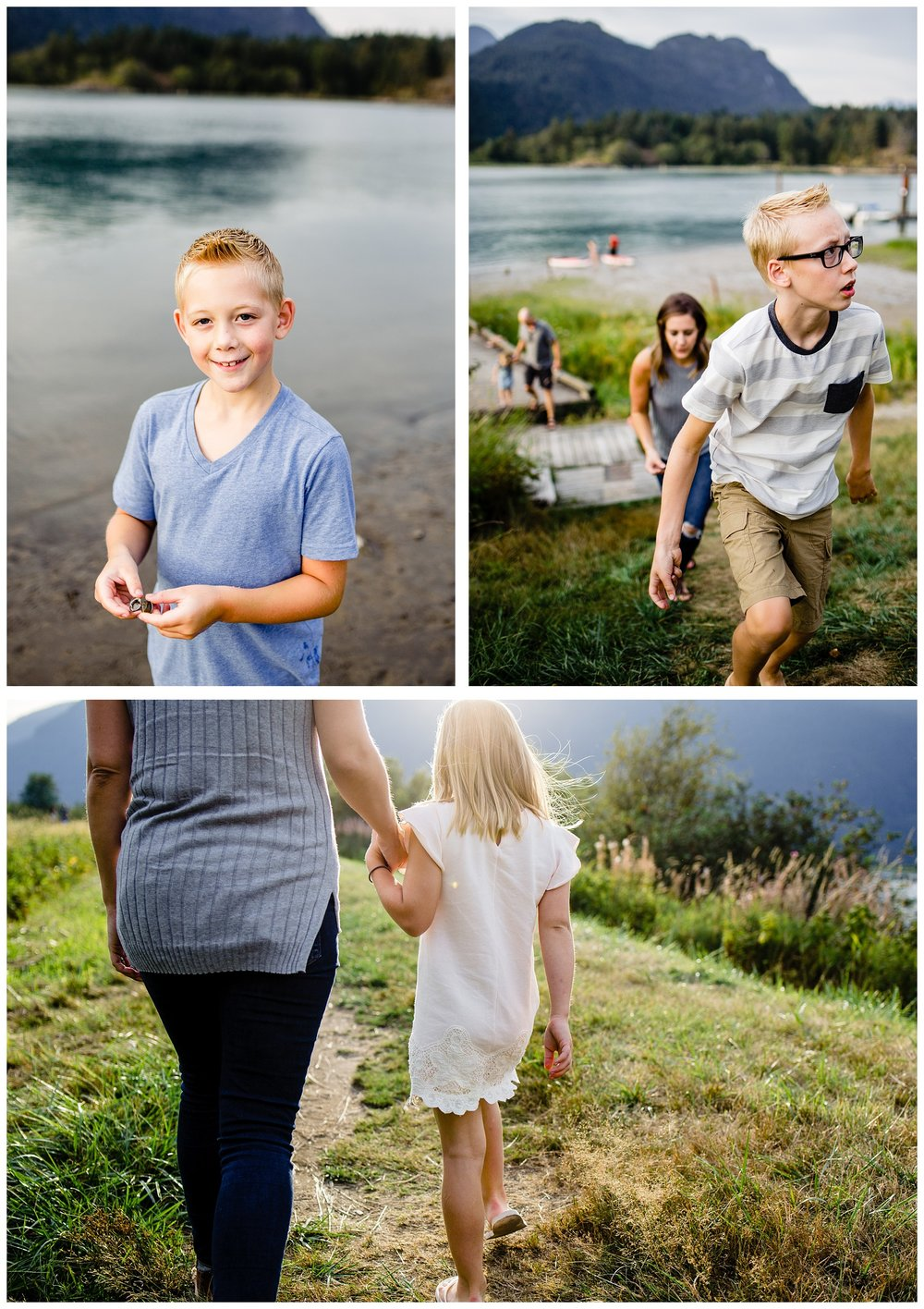 Pitt Lake Documentary Family Photographer Bubbles Mud Family of 6 Boys Girls Children_0092.jpg