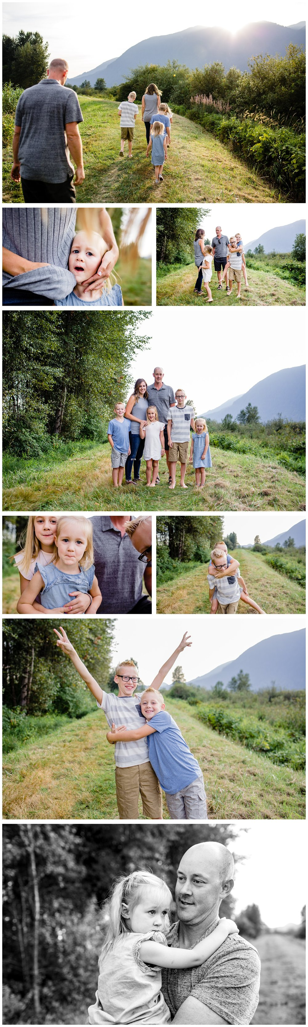 Pitt Lake Documentary Family Photographer Bubbles Mud Family of 6 Boys Girls Children_0093.jpg