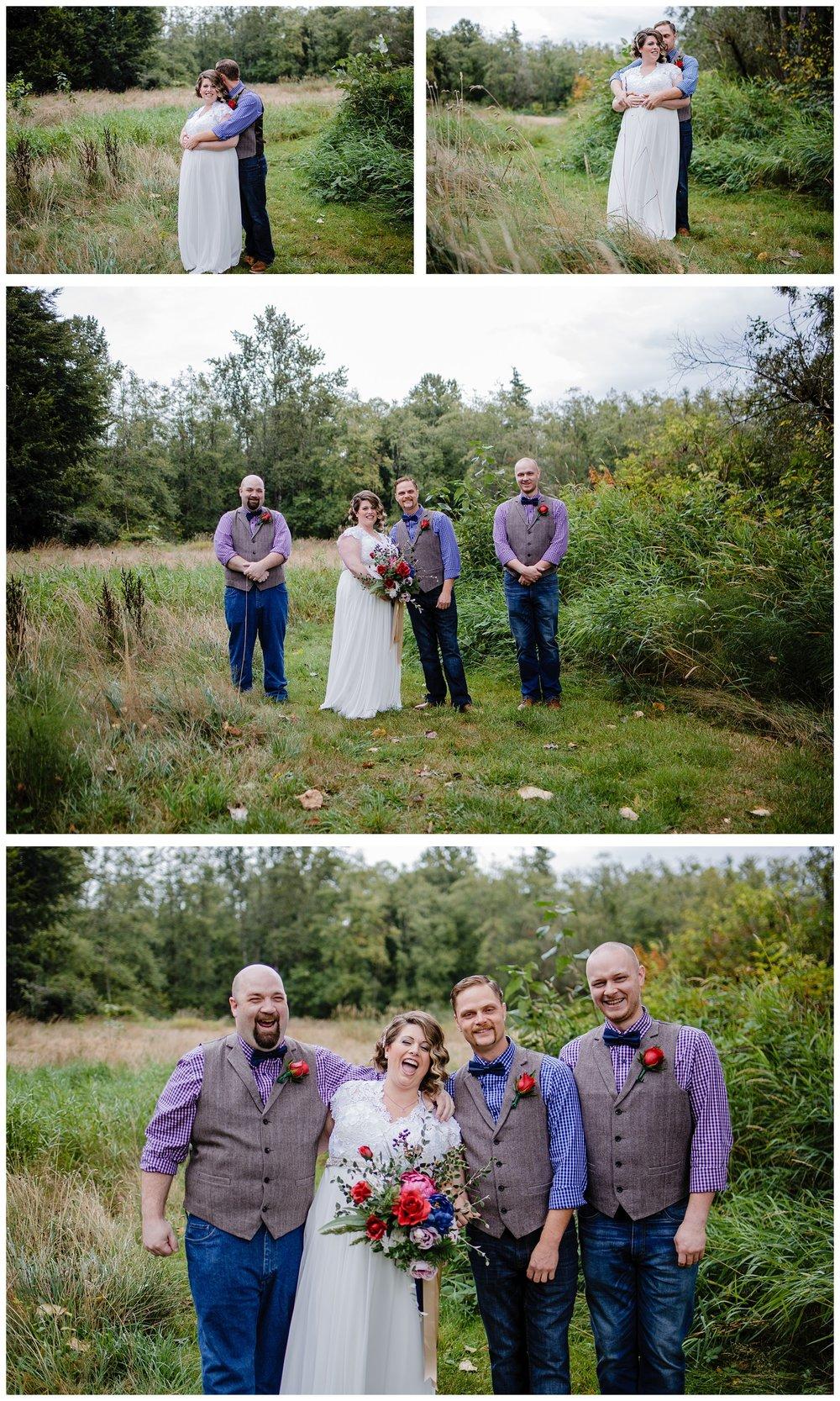 Aldergrove Park Fall Backyard Wedding Photographer Pregnant Bride Tent Outdoor BC Canada Best Wedding Photographer_0024.jpg