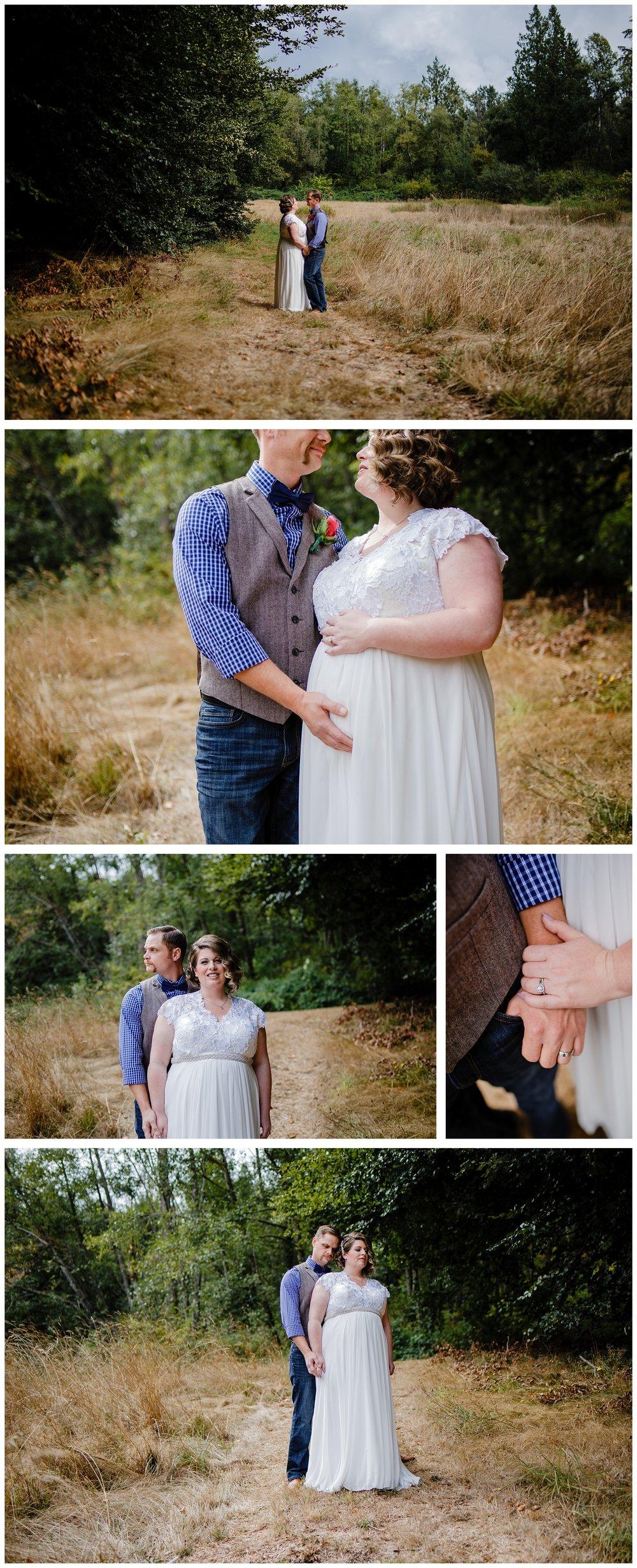Aldergrove Park Fall Backyard Wedding Photographer Pregnant Bride Tent Outdoor BC Canada Best Wedding Photographer_0030.jpg
