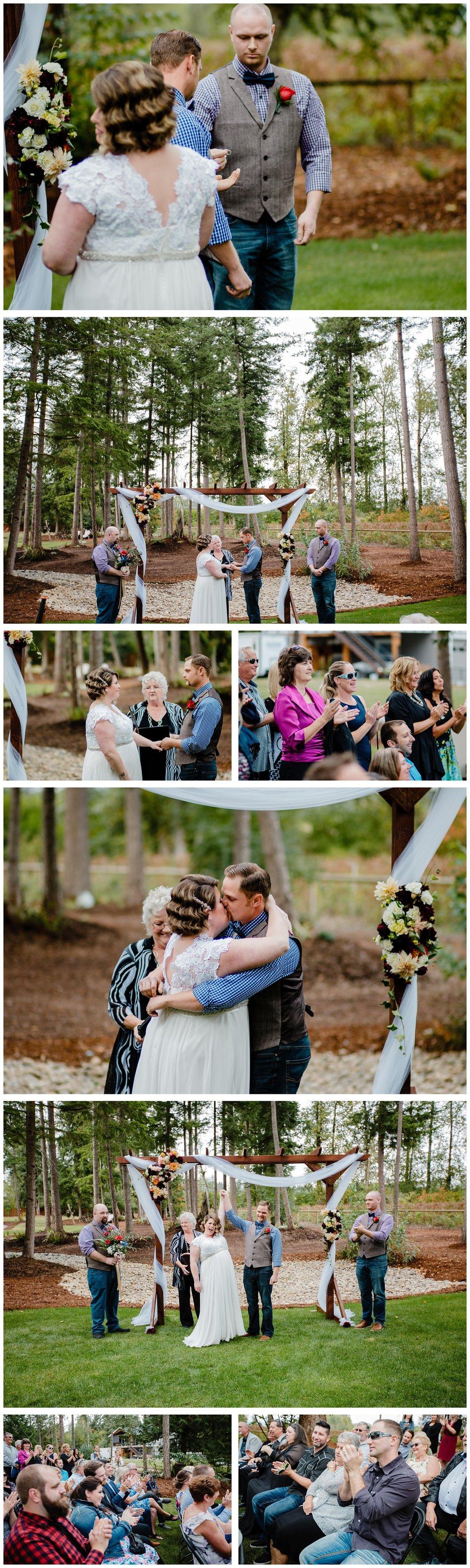 Aldergrove Park Fall Backyard Wedding Photographer Pregnant Bride Tent Outdoor BC Canada Best Wedding Photographer_0038.jpg