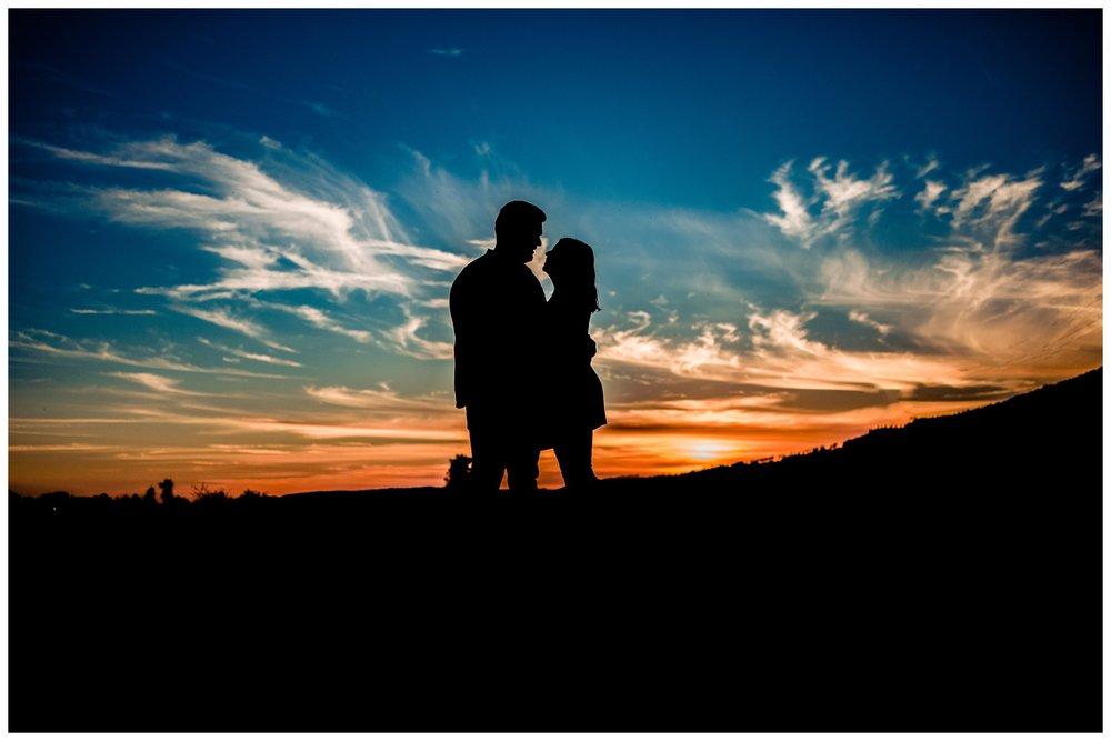 Pitt Lake Pitt Meadows Engagement Photographer Romantic Couple Mountains Lake Black Jean Sunset Flash Fall Fun Photos_0111.jpg