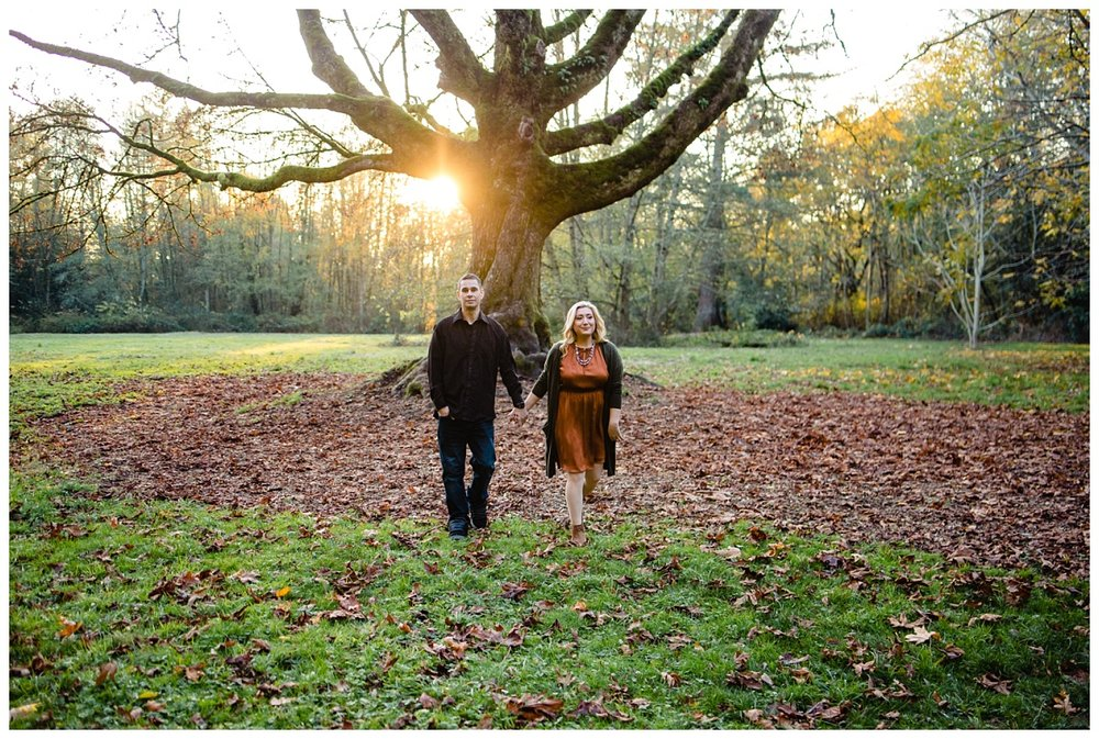 Redwood Park Surrey Engagement Photographer Couples Fall Evening_0009.jpg