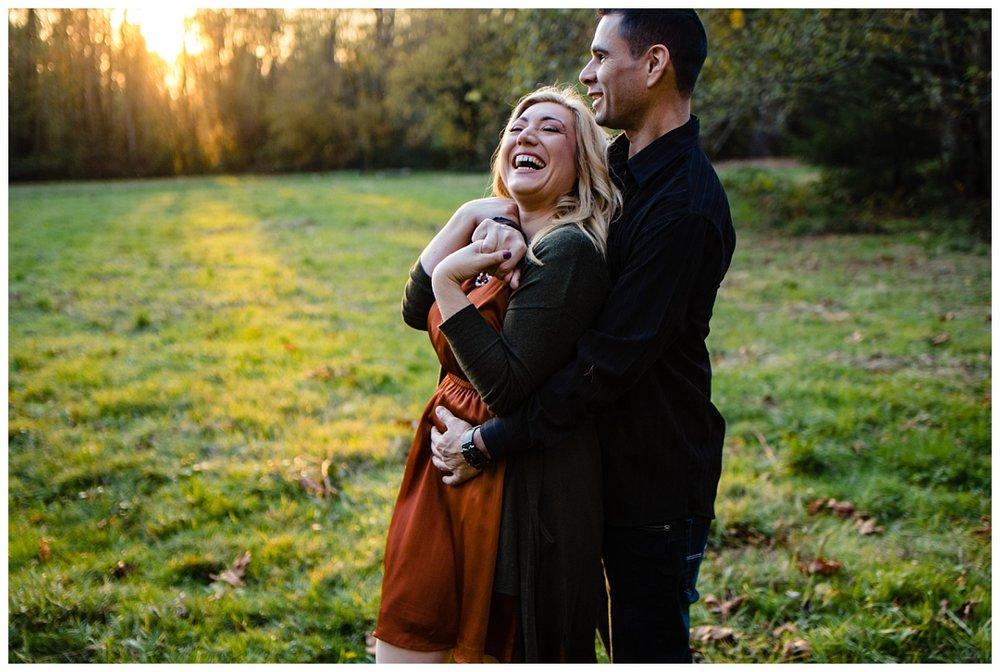 Redwood Park Surrey Engagement Photographer Couples Fall Evening_0013.jpg