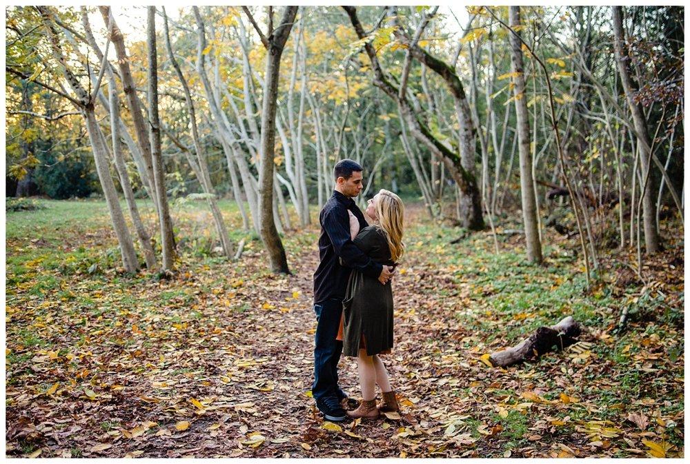 Redwood Park Surrey Engagement Photographer Couples Fall Evening_0021.jpg