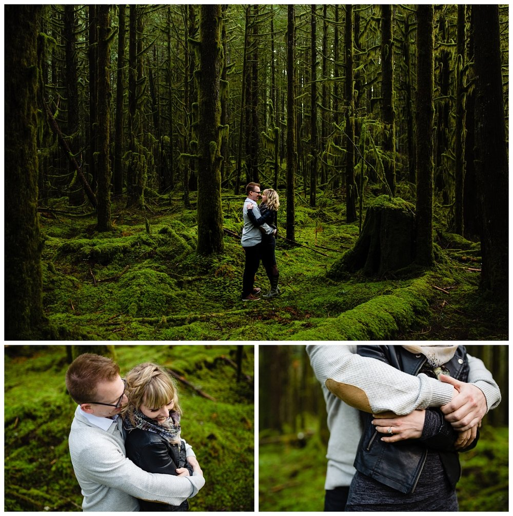 Alouette Lake Spirea Forest Engagement Photo Session Green Forest Woods Rich Colours Candid Happy Love Maple Ridge photographer_0003.jpg