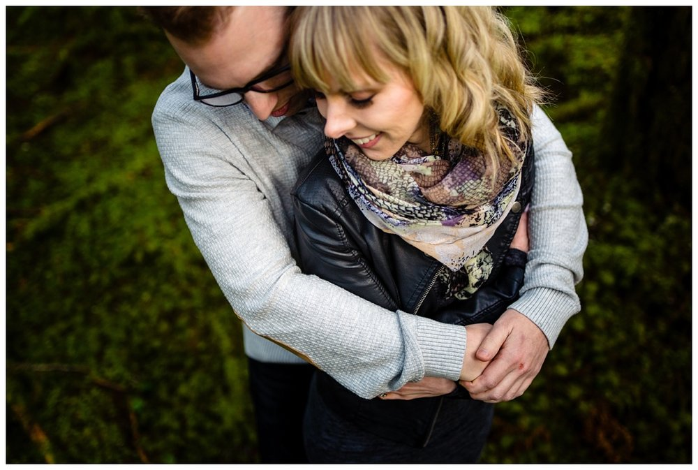 Alouette Lake Spirea Forest Engagement Photo Session Green Forest Woods Rich Colours Candid Happy Love Maple Ridge photographer_0006.jpg