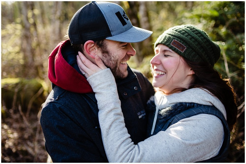 Stave Lake Adventure Engagement  Photographer Mission Fun Candid Natural Romantic Couple Poses_0010.jpg