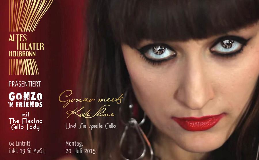 Kate-Shine-Cello-Gonzo 'N Friends