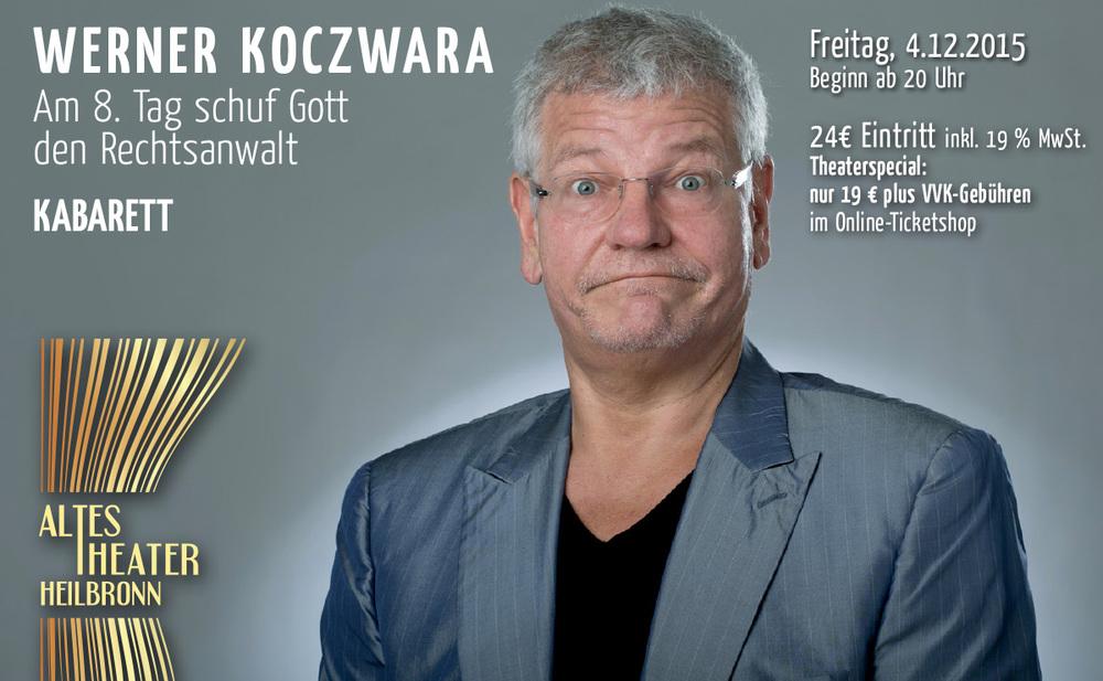 ALTES THEATER Heilbronn Werner Koczwara