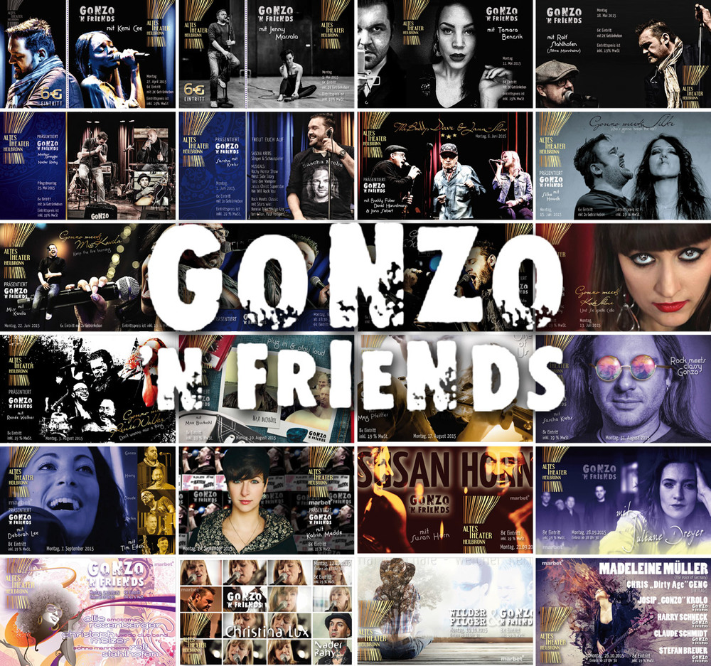 GONZO N Friends ALTES THEATER Heilbronn