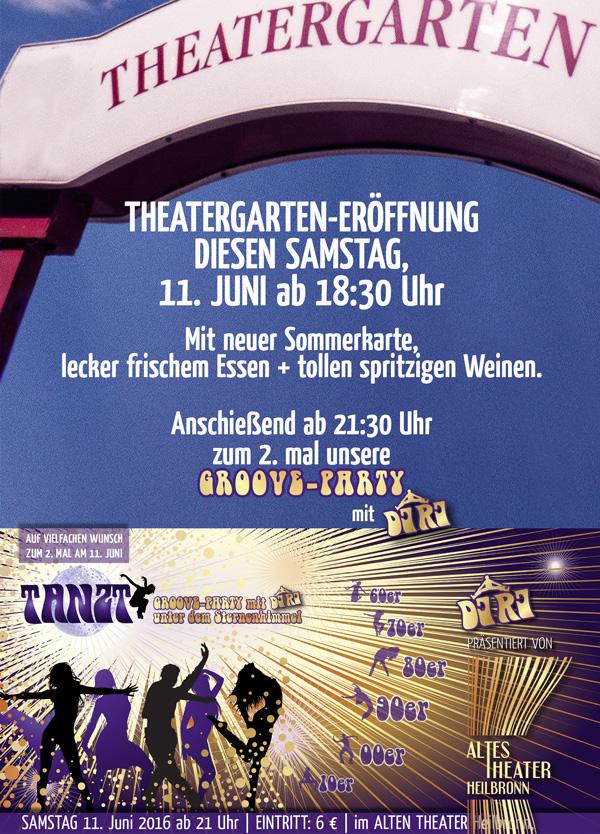 ALTES THEATER Heilbronn-Theatergarten-GOOVED-Tanz-Party