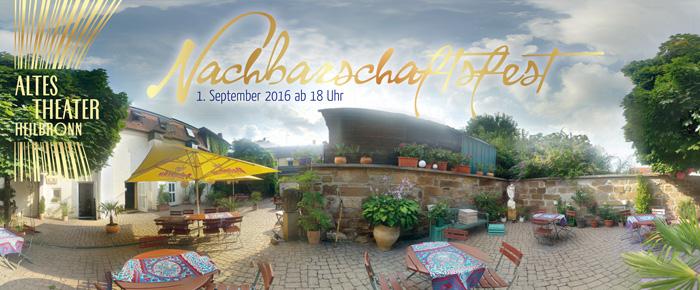 ALTES THEATER Heilbronn Nachbarschaftsfest