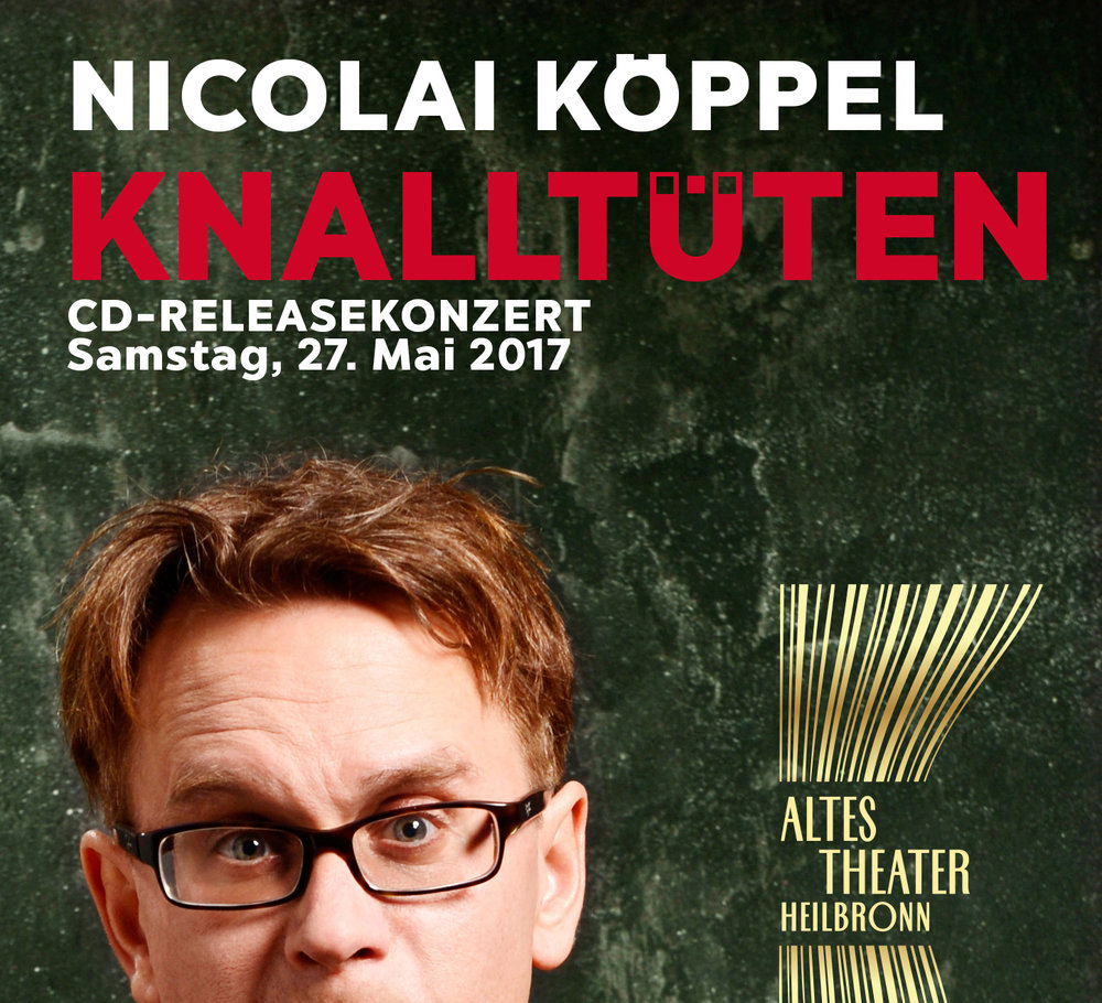Nicolai Köppel im ALTEN THEATER Heilbronn