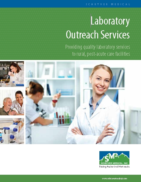 Laboratory Outreach Services Brochure (PDF)