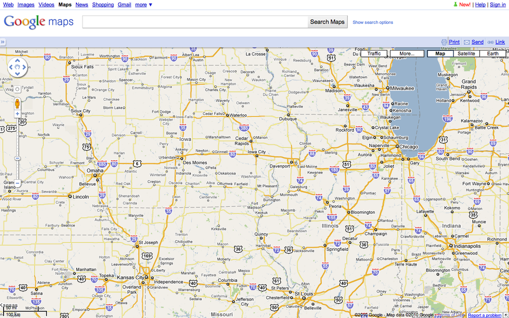 Google Maps & Label Readability on