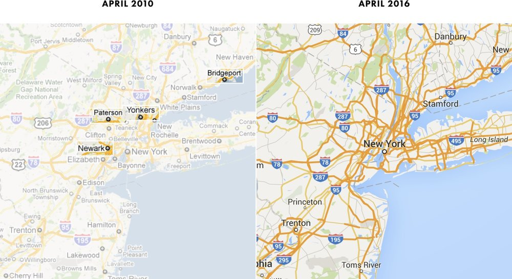 Map Zoom.What Happened To Google Maps