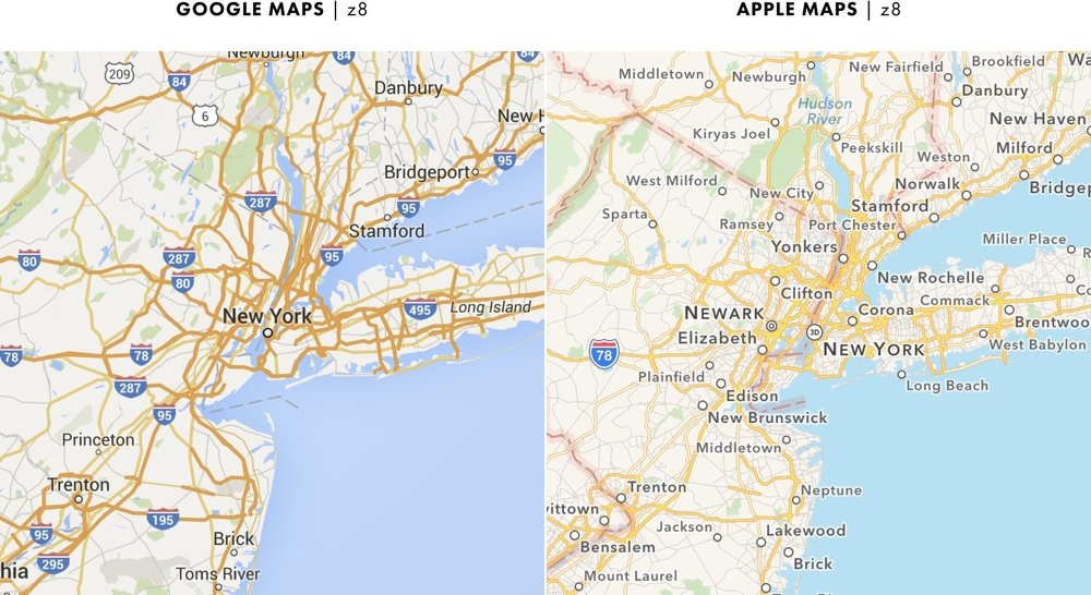 Cartography Comparison, Part 1