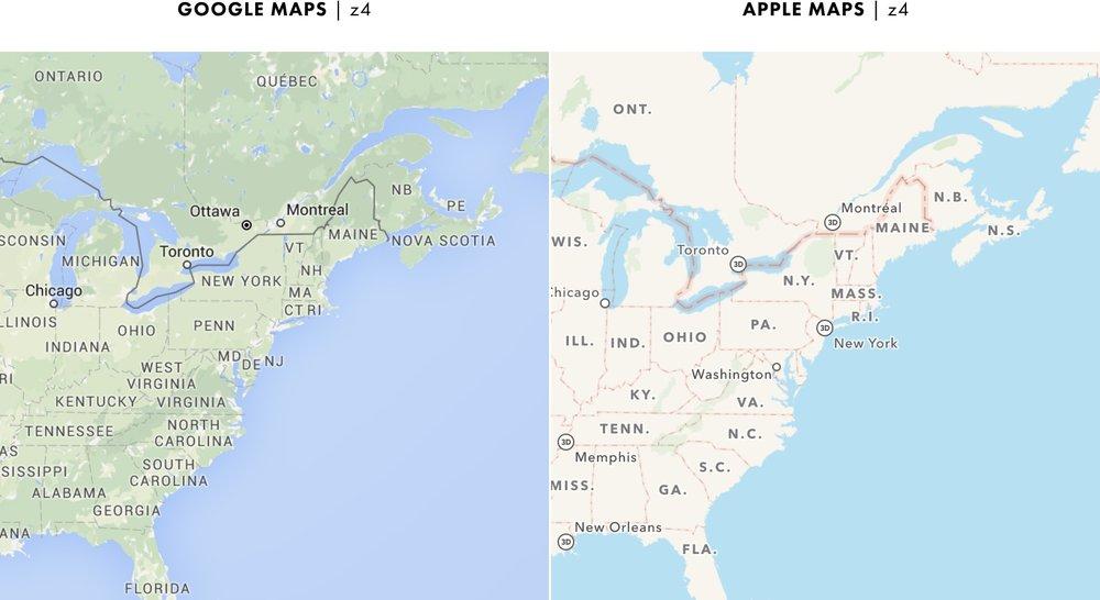 Cartography Comparison Part 2