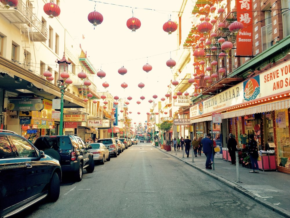 📷 Chinatown, San Francisco | Photo by Justin O'Beirne