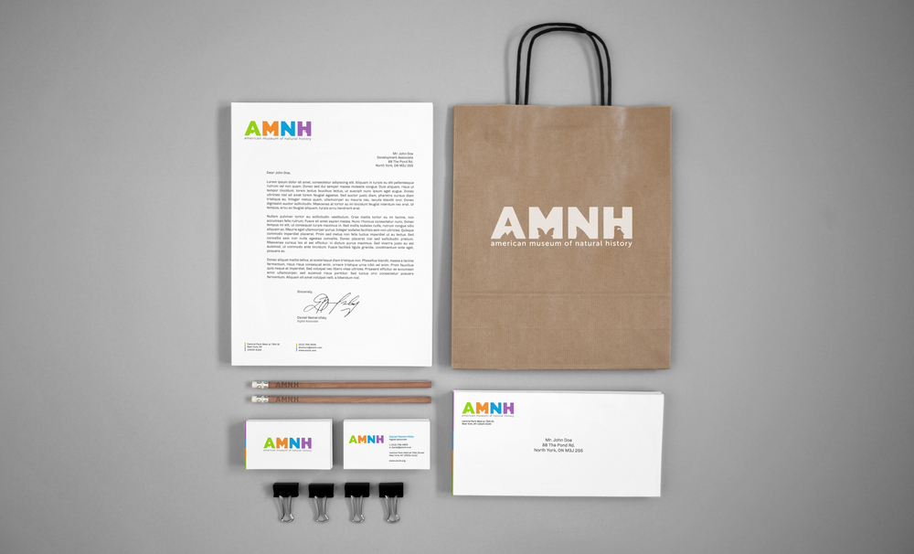 American Museum of Natural History Corporate Identity Redesign