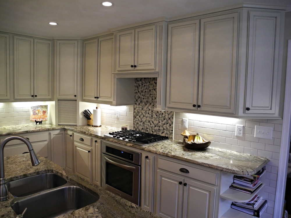 Off White Painted Cabinets.