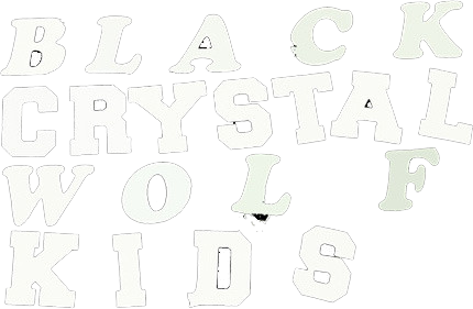 BLACK CRYSTAL WOLF KIDS