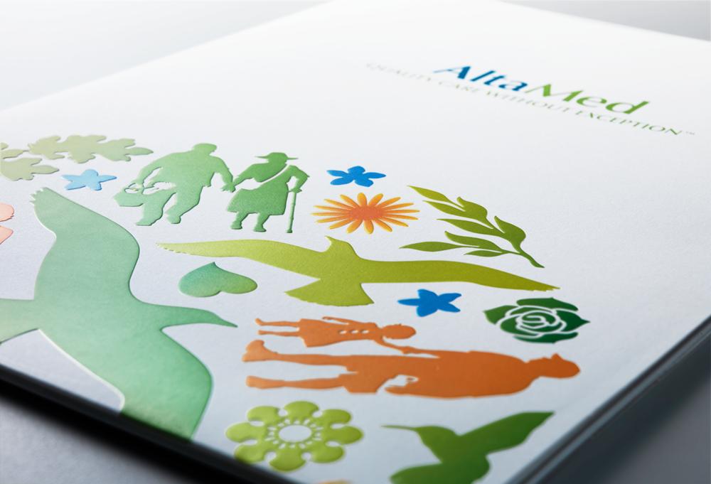AltaMed folder design