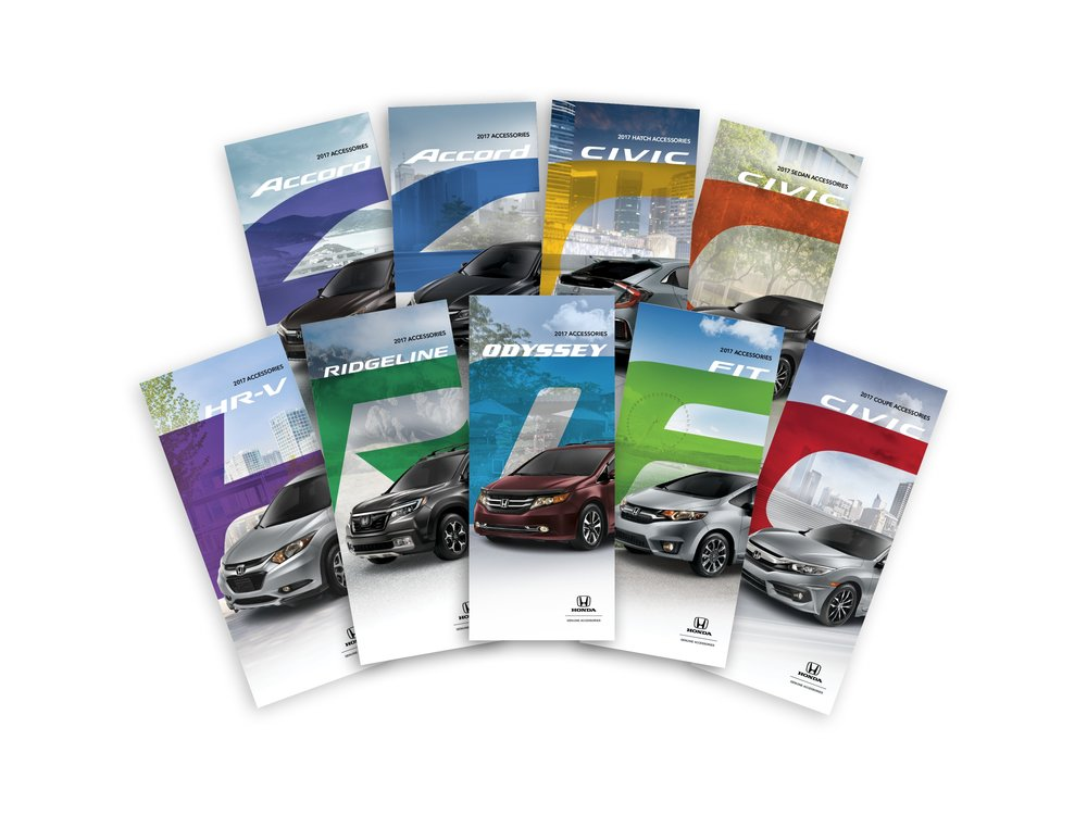 Full line of Honda Accessories brochures