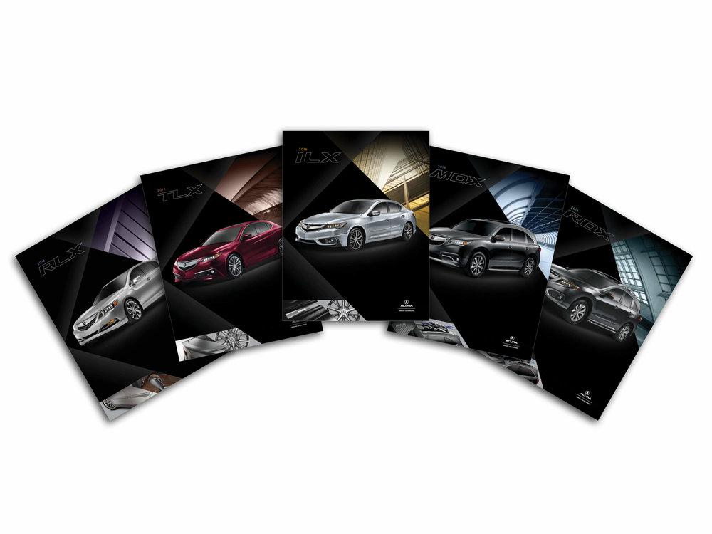 Acura brochure lineup 2016