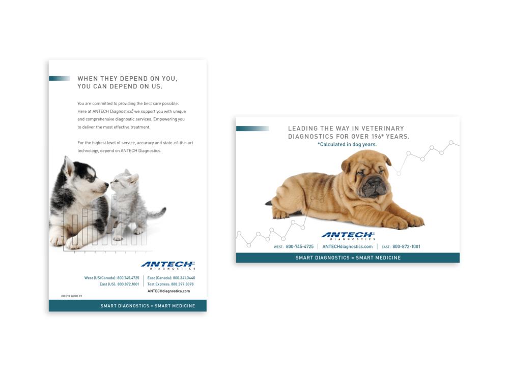 ANTECH Diagnostics Advertisements