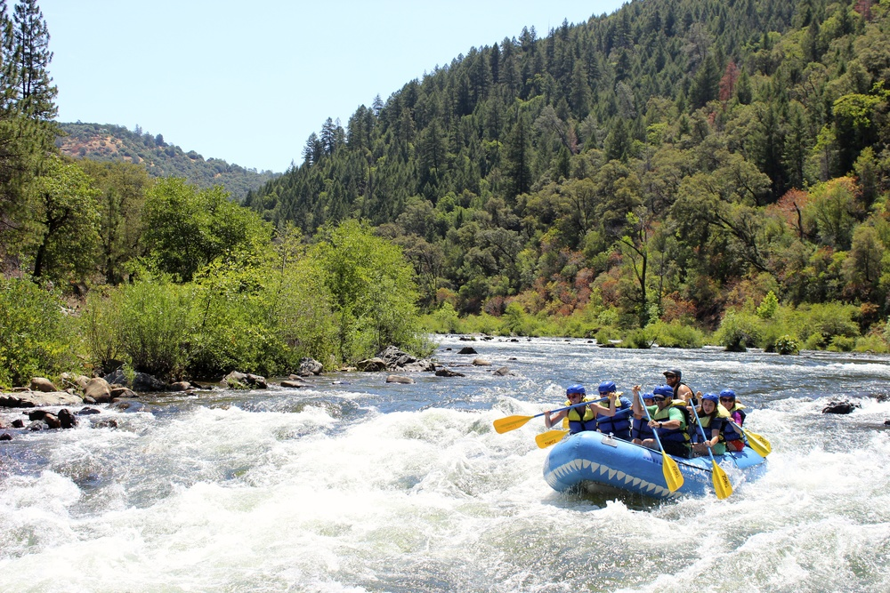 South Fork American River - Chile Bar (Class II-III Whitewater)