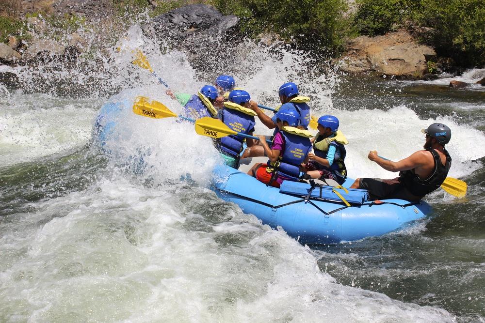 South Fork American River - Gorge Run (Class II-III Whitewater)