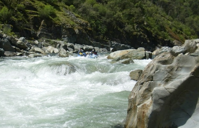 North Fork American River- Chamberlain Falls (Class IV+ Whitewater)