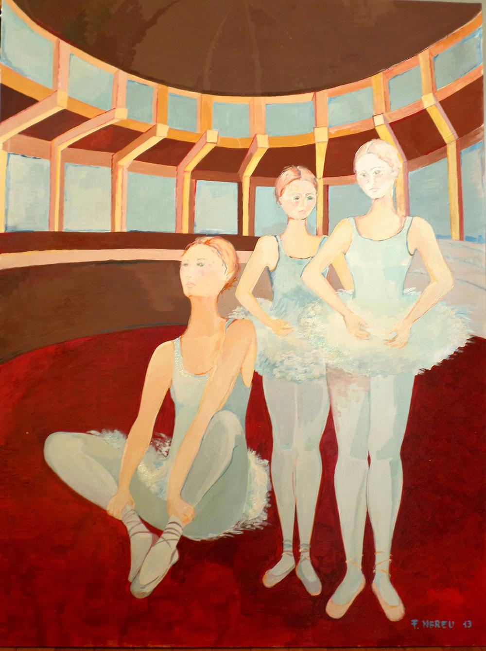 BALLERINE CLASSICHE, 120x90 cm