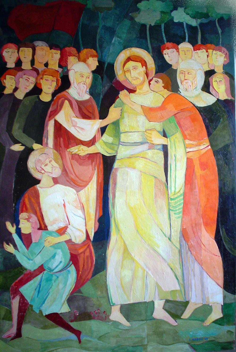 BACIO DI GIUDA, 80x120 cm