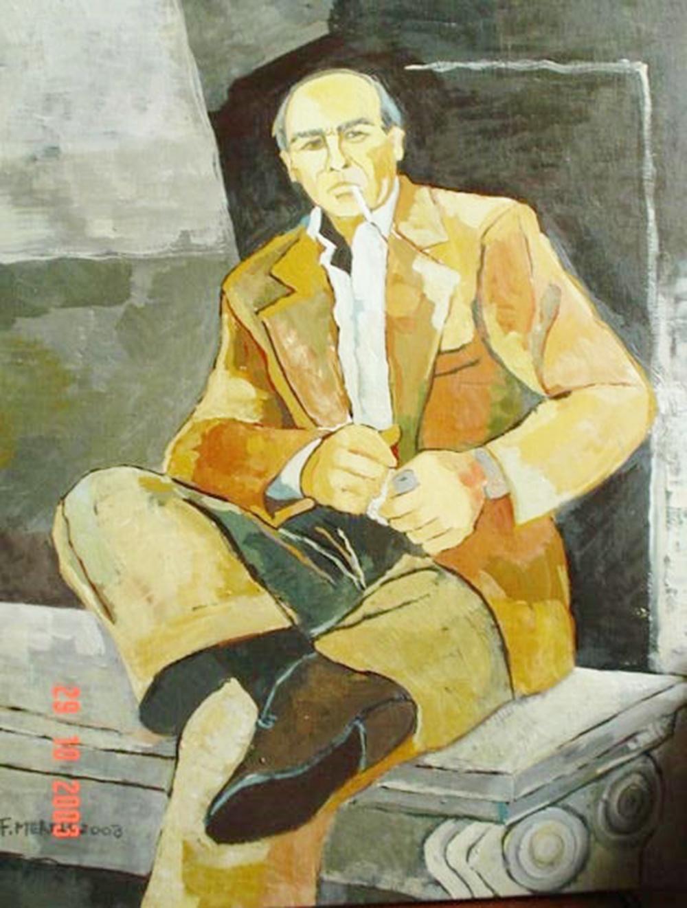 8 f. mereu, ritratto di mio padre, tempere su tela 40 x 60, 2007.jpg