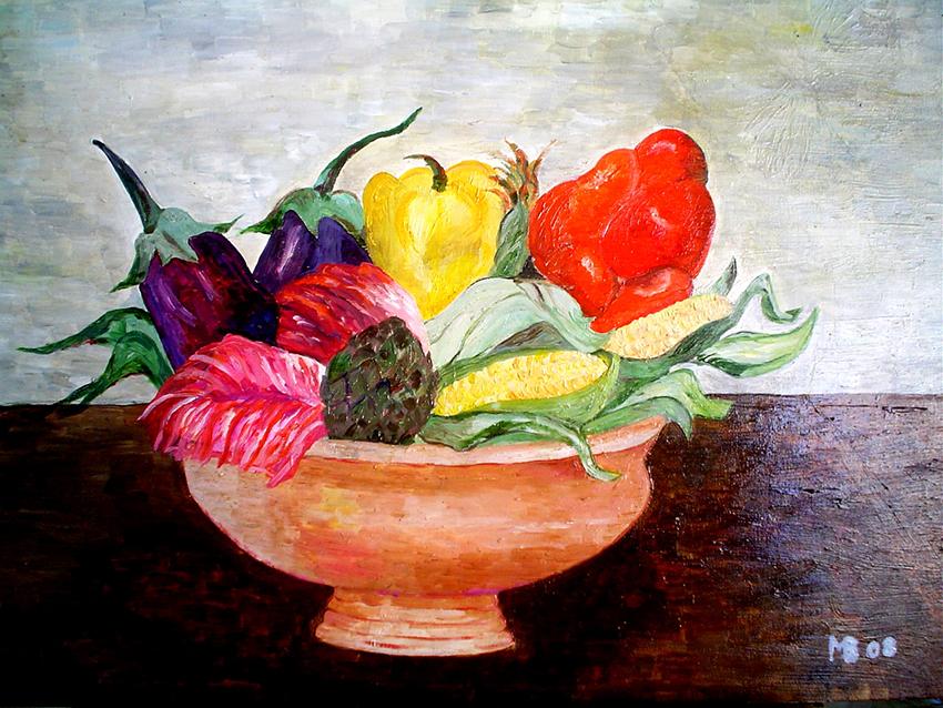 16. verdure, olio su tela.jpg